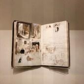 Delacroix Sketchbook, Louvre