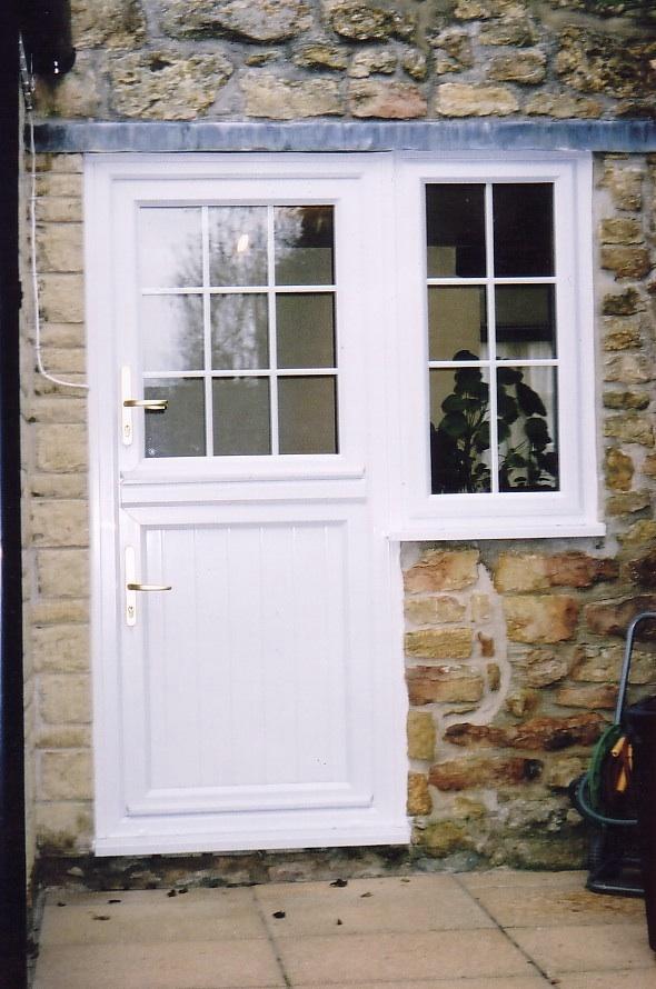 uPVC Double Glazed  Composite Back Doors Somerset
