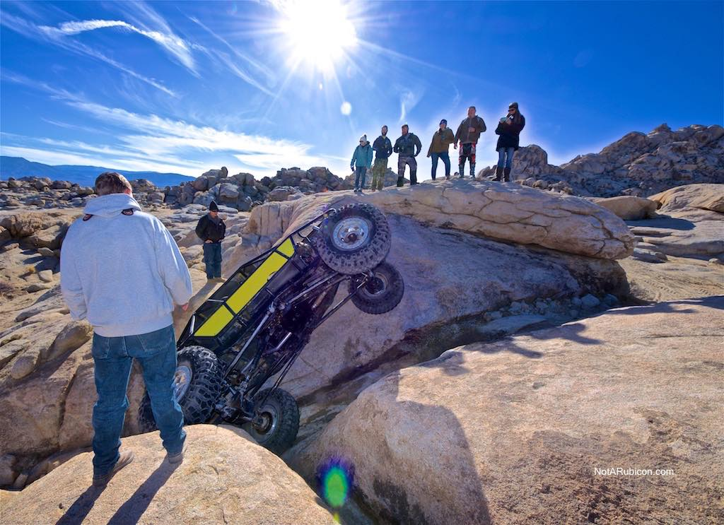 Buggy stuck at Cougar Buttes