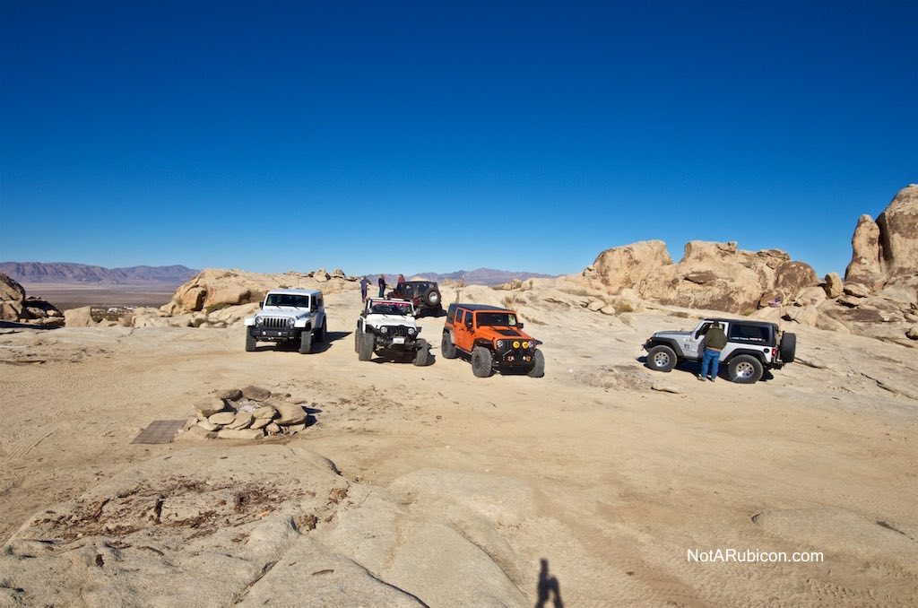 Jeeps at Cougar Buttes