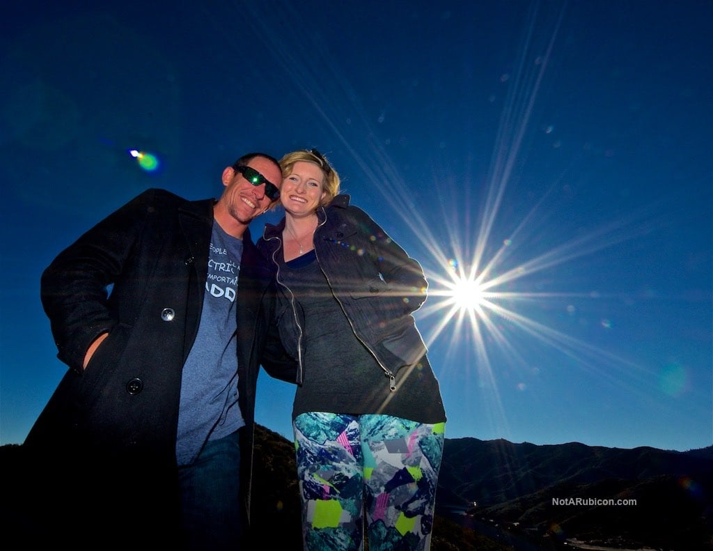 Couple at Cleghorn Trail