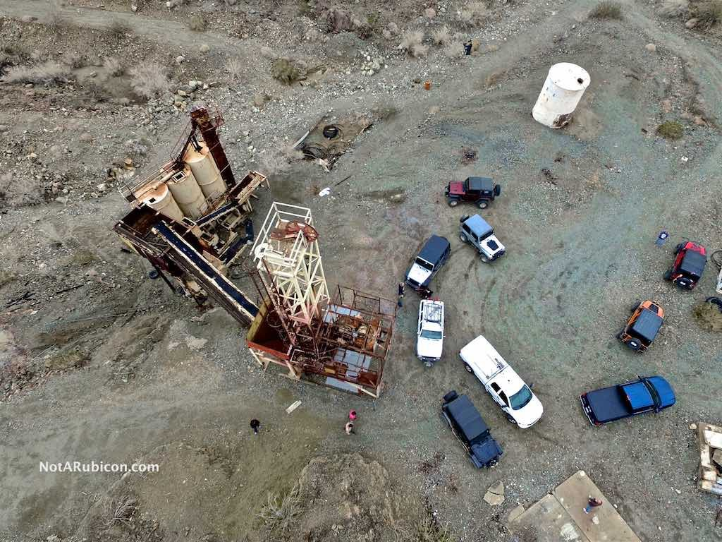 Equipment at the Mission Mine near Joshua Tree