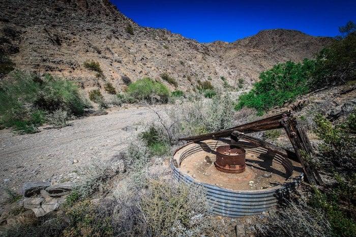Mining arista near Red Cloud Mine