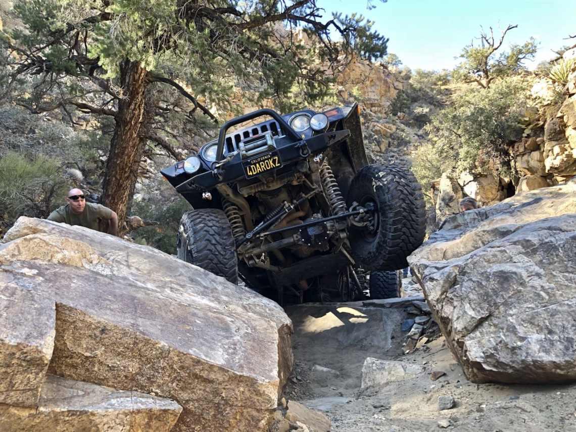 Extra credit spot on Sidewinder Trail