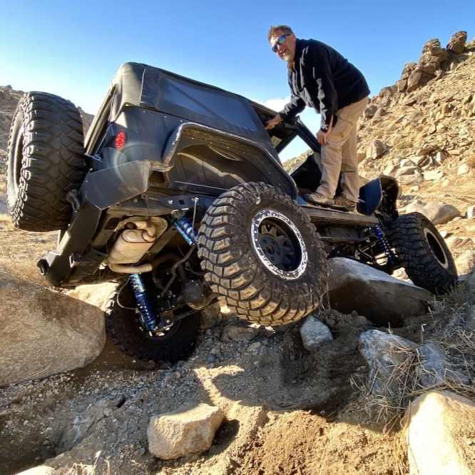 Jeep wrangler flop