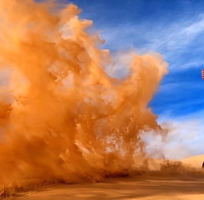 Glamis Sand Dunes Dirt Bike
