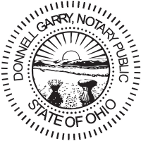 Ohio Notary Pocket Seal, Ideal Self Inking Stamp, & Notary