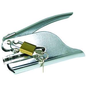 embosser security lock