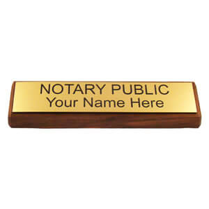 notary sign