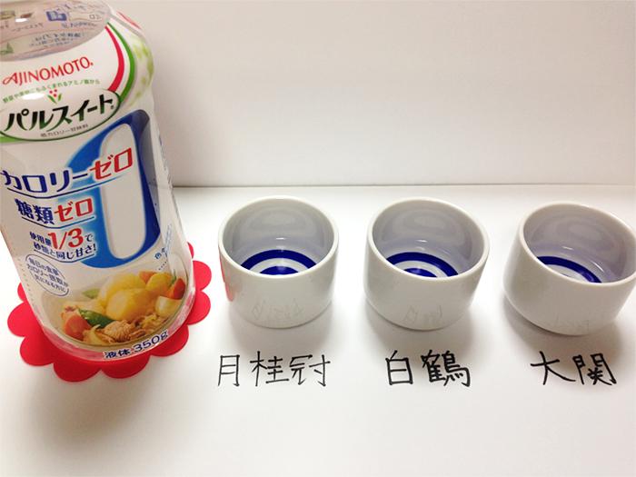 糖質ゼロ〜実験8人口甘味料
