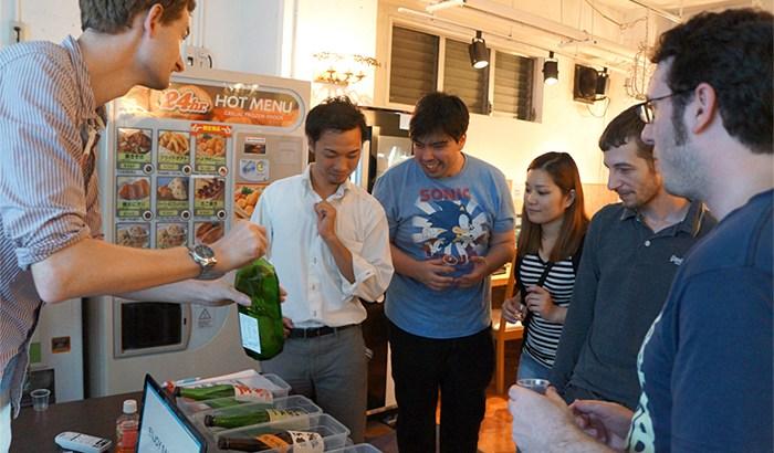 完全アウェイ!外国人のための日本酒イベントに潜入!