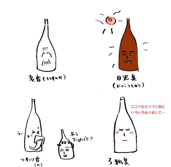 日本酒の劣化について