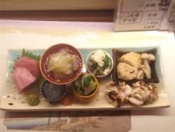 神田割烹「ゐの上」で修行を積んだ店主が作る絶品料理の数々。下北沢 「金兵」