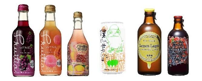 家飲みにはローソンのフルーツビールとクラフトビールがお勧め