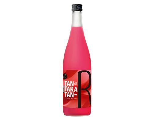 ルビー色が美しい、合同酒精のしそ焼酎「鍛高譚(たんたかたん)R」