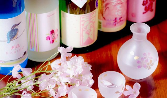 「日本酒バル 蔵のや」新橋店が期間限定で『春酒』&『桜肉ユッケ』の提供をスタート