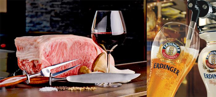「銀座のステーキ 銀座本店」にてドイツ直輸入の樽生ビール『ERDINGER(エルディンガー)』を提供開始