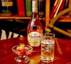本格梅酒「The CHOYA」発売1周年を記念して『The CHOYA BAR 銀座』が3月8日から期間限定でオープン