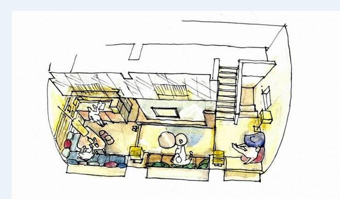 日本酒を楽しむためのBARコーナーを備えたスイートルーム「会津モダンスイート」が誕生