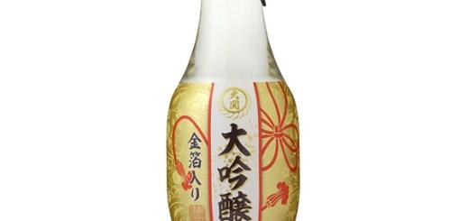 大関-大吟醸-金箔180ml瓶詰