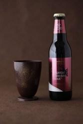 バレンタイン向けチョコビールとチョコレート製グラスセット、数量限定発売!