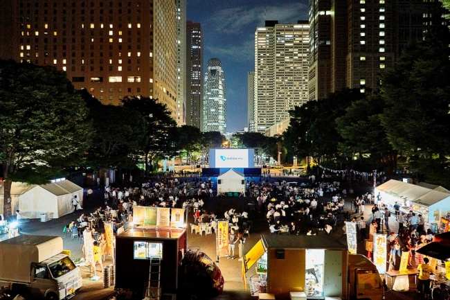 Screen@Shinjuku Central Park 2019~小田急沿線・クラフトビール新酒解禁祭りmini~