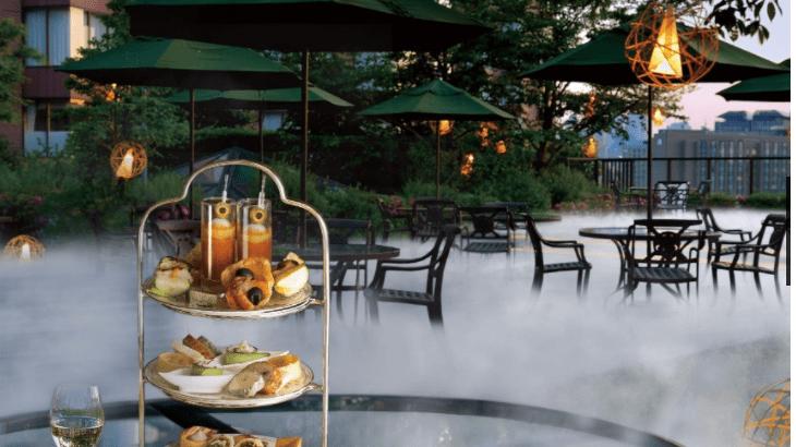 ホテル椿山荘東京でノンアルコールの「雲の中のイブニングハイティー」開催!