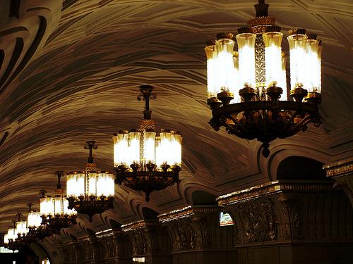 El legendario metro de Moscú