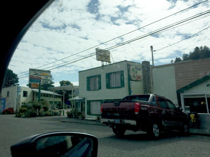 Motel en la Highway 101 de Redwood a Trinidad