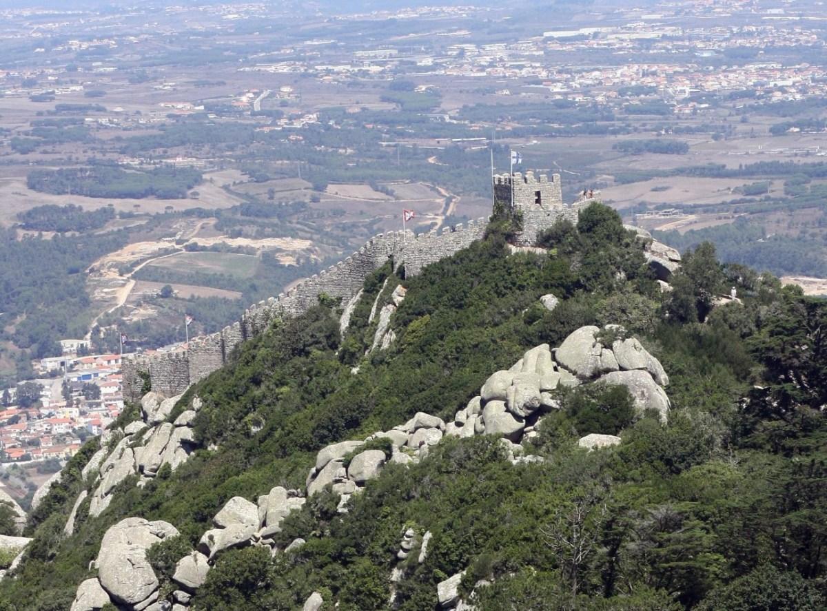 Notas desde Sintra: Parque da Pena y Castelo dos Mouros
