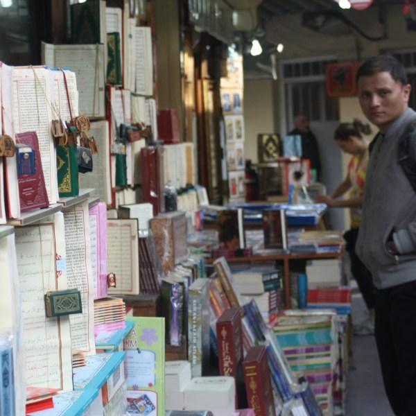 Bazar de libros de Estambul