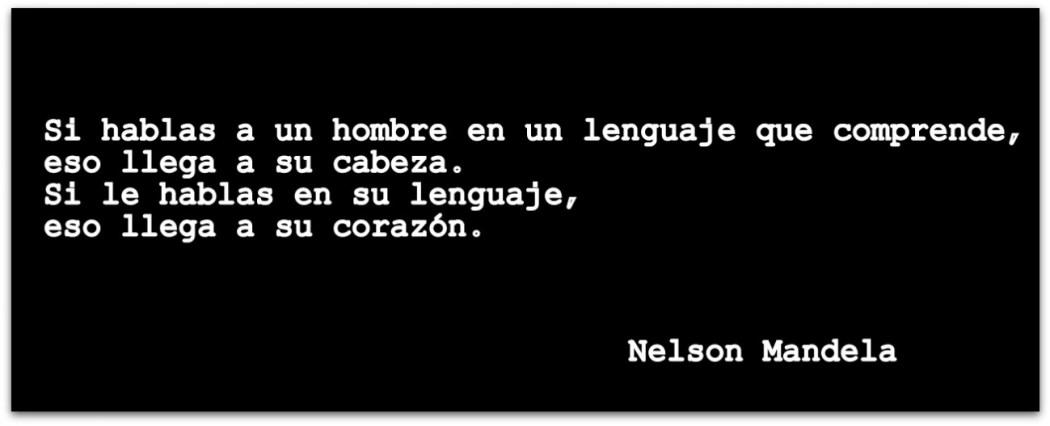 cita Nelson Mandela
