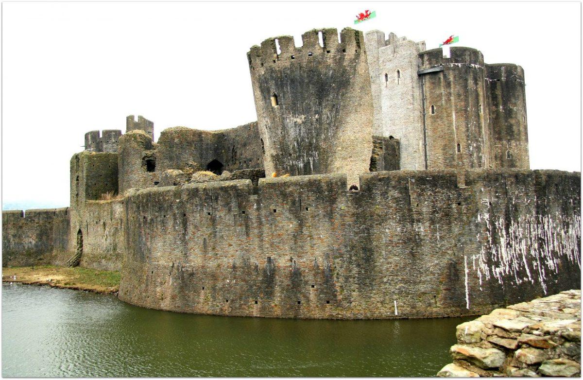 Notas desde el mayor castillo de Gales