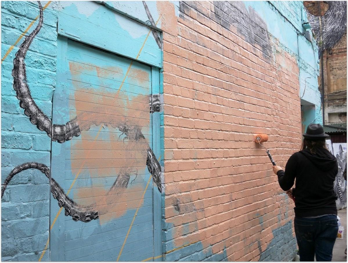 Notas sobre 15 artistas callejeros en Londres