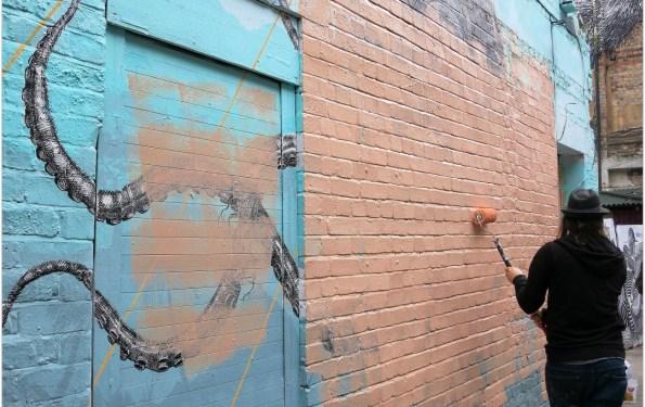 Artistas urbanos en Londres