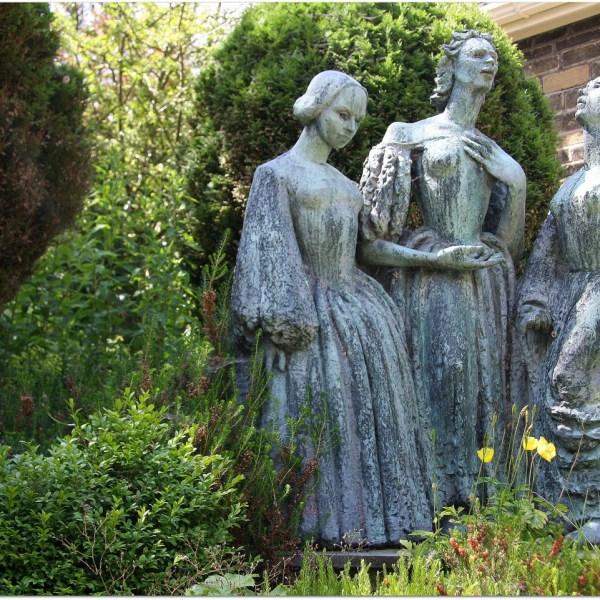 Las hermanas Brönte en Haworth