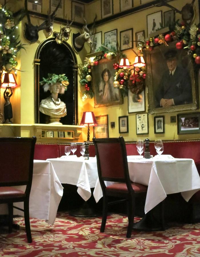 Restaurante Rules, Londres