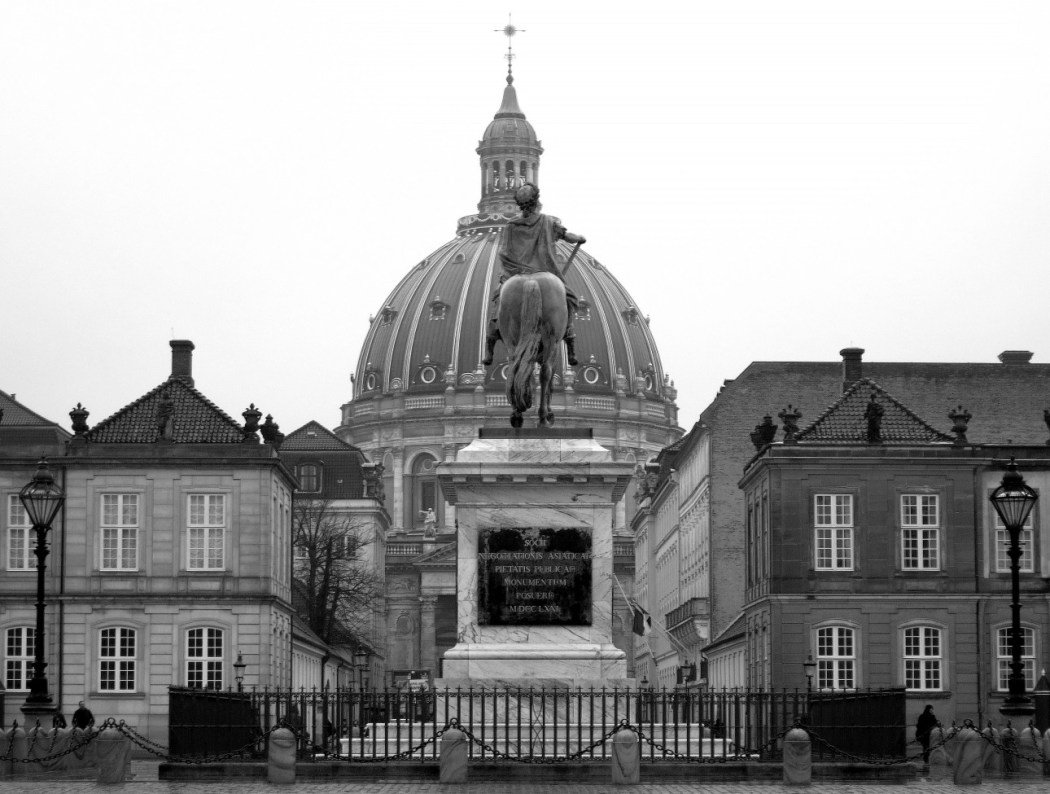 Palacio de Amalienborg, Copenhague