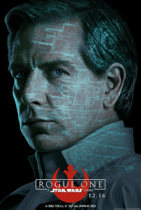 Ben Mendelsohn as Director Orson Krennic in Rogue One a Star Wars Story