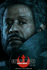 Forest Whitaker as Saw Gerrera in Rogue One a Star Wars story
