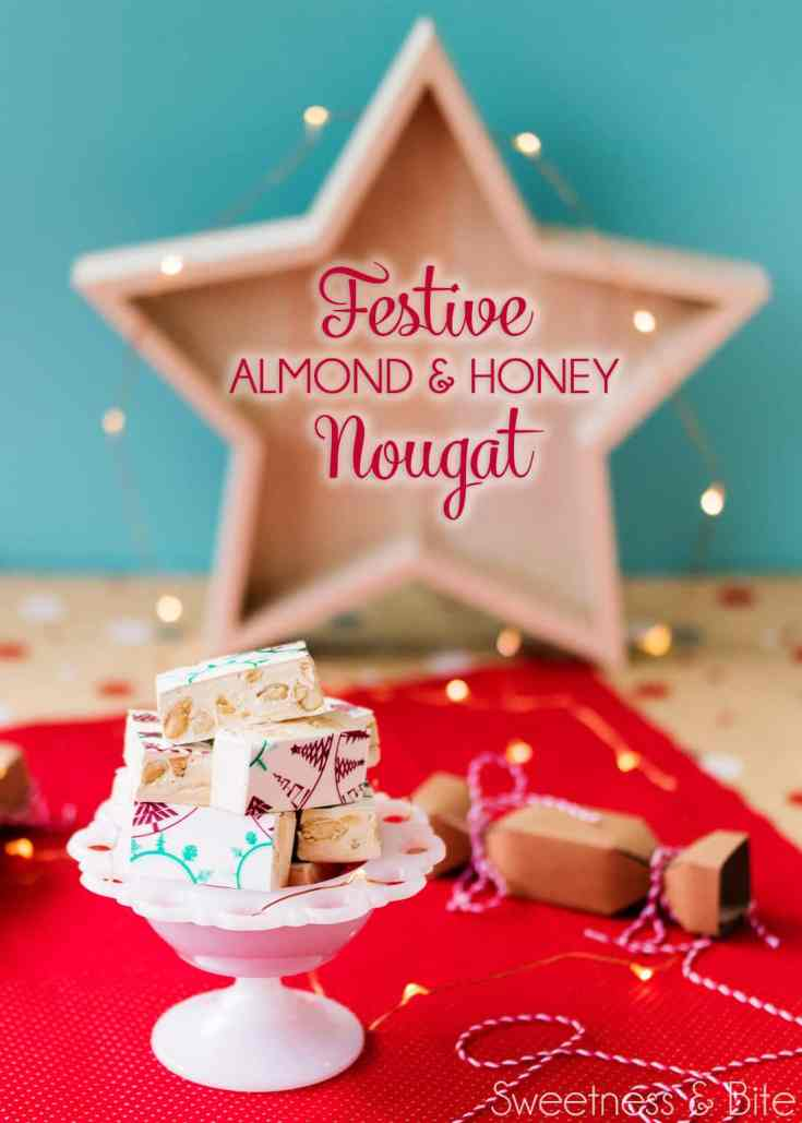 Festive Almond and Honey Nougat