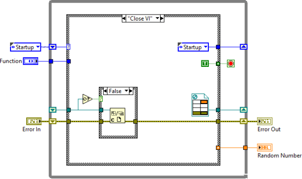 Function substitution - Close VI