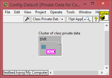 Config Mgr DVR in Class Data
