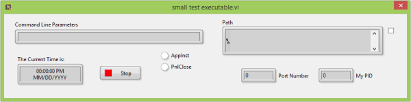 A Small Test Executable - FP