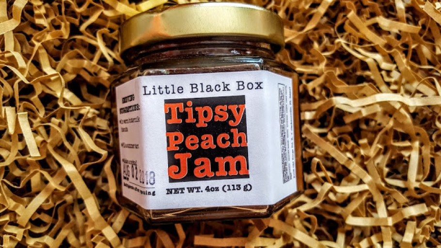 little black box tipsy peach jam