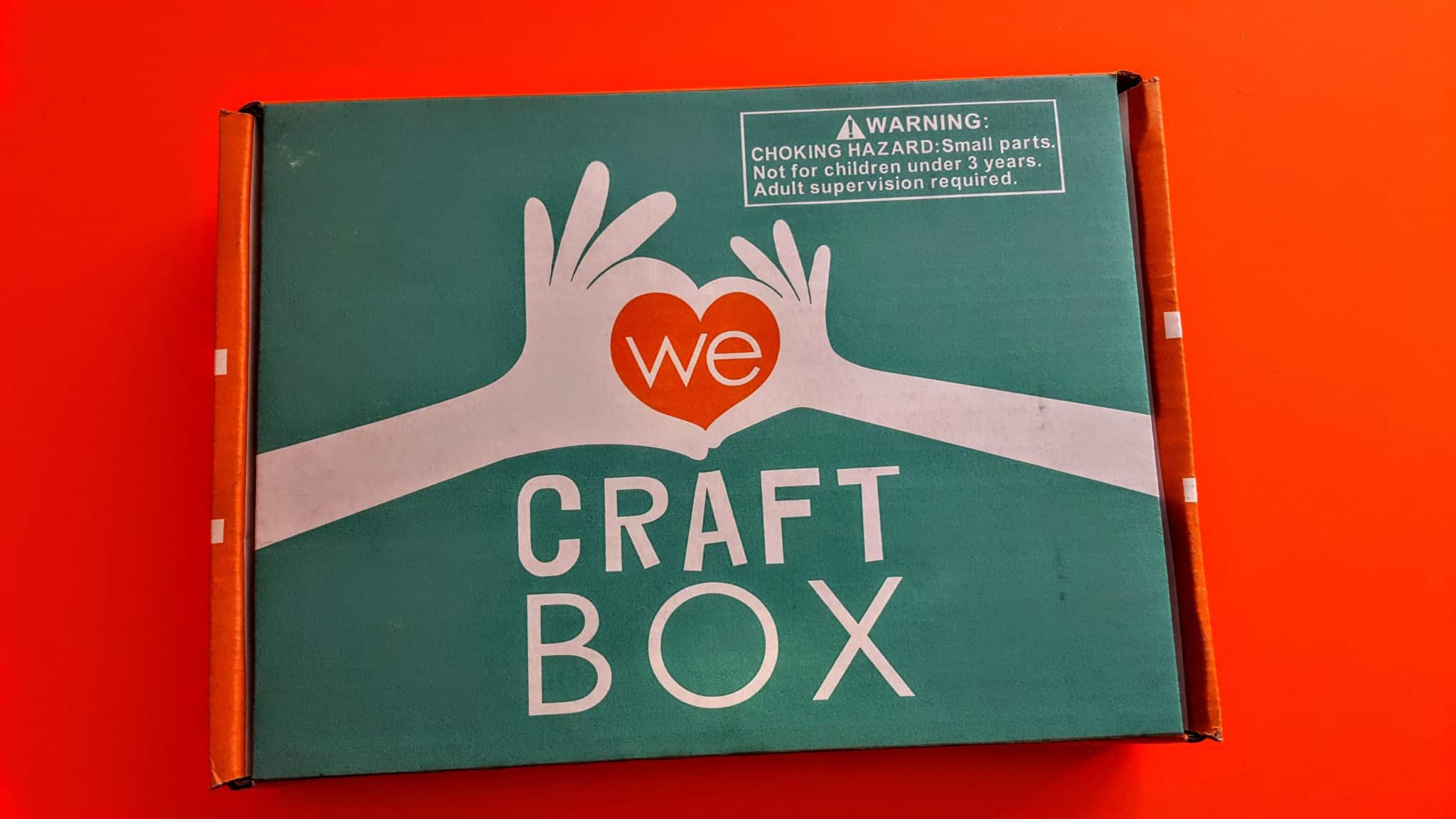 we craft box subscription review unboxing january 2018