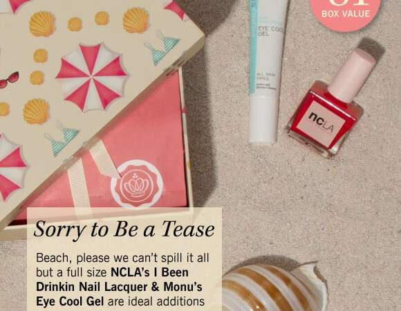 glossybox august spoilers