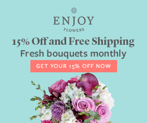 enjoy flowers coupon