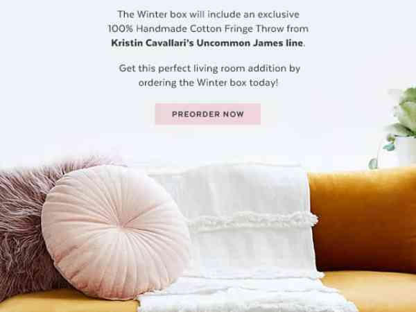 popsugar winter box