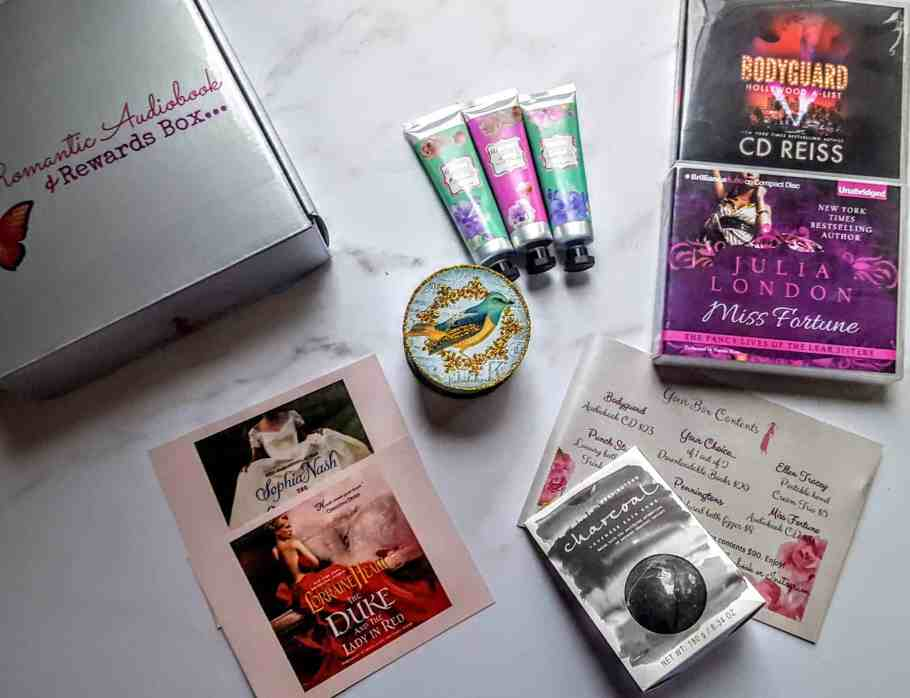 what's in the romance rewards subscription box